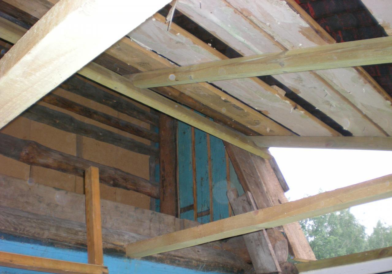 К чему снится ремонт крыши